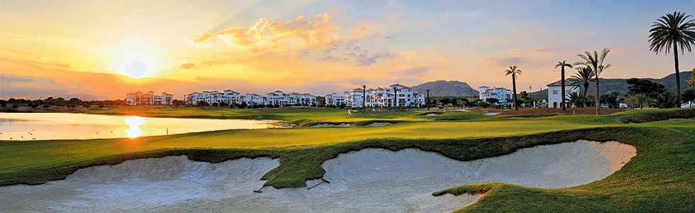 Solnedgång utsikt i marmenor under longstay golf spanien - Sunbirdie