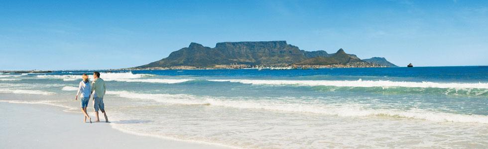 Strand promenad i lagoon under longstay sydafrika | Sunbirdie