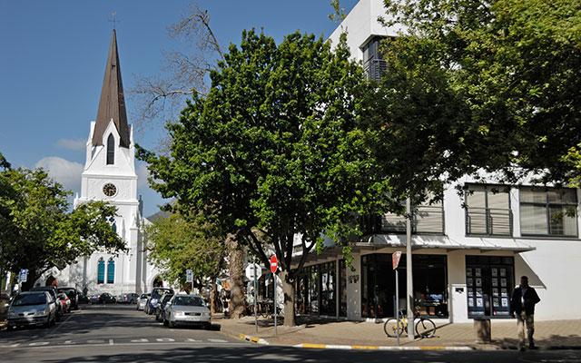 Stellenbosch centrum under longstay sydafrika | Sunbirdie