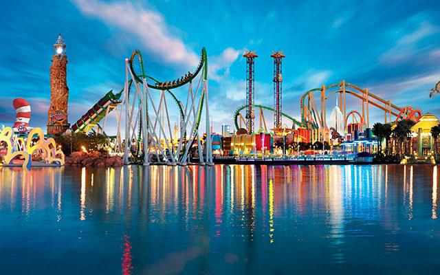 Ha det gøy i Orlando park under Longstay Florida med Sunbirdie