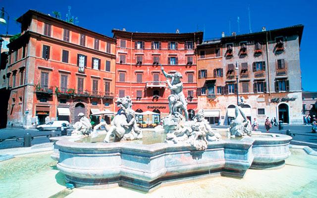 Utforska Rom under long golfresor till Italien