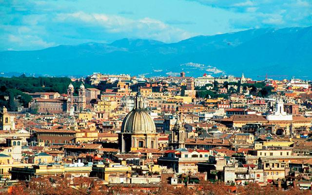 Long stay golfresortill den eviga staden Rom