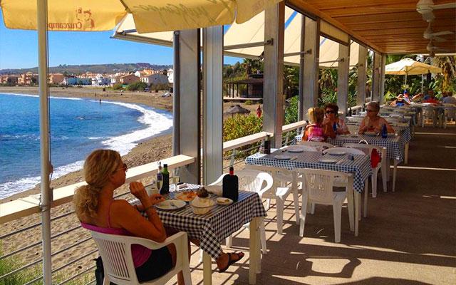 Valle Romano strand under short stay golfresor med Sunbirdie