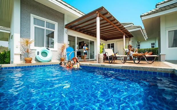 Short Stay på hua hin black mountain pool villa i thailand - Sunbirdie