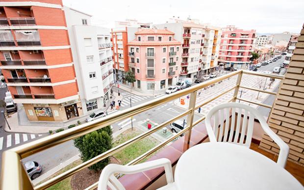 Short Stay på costa dorada cambrils arago balkong i spanien - Sunbirdie