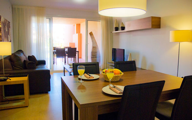 Short Stay på ostacalida mar menor livingroom i spanien - Sunbirdie