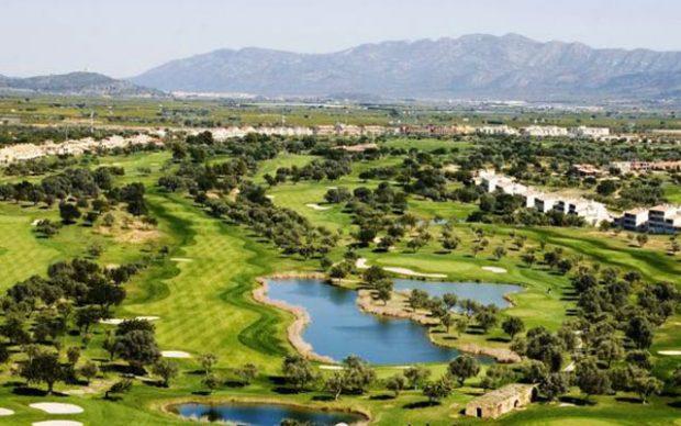 Short Stay på costa valencia panoramica golf aerial i spanien - Sunbirdie