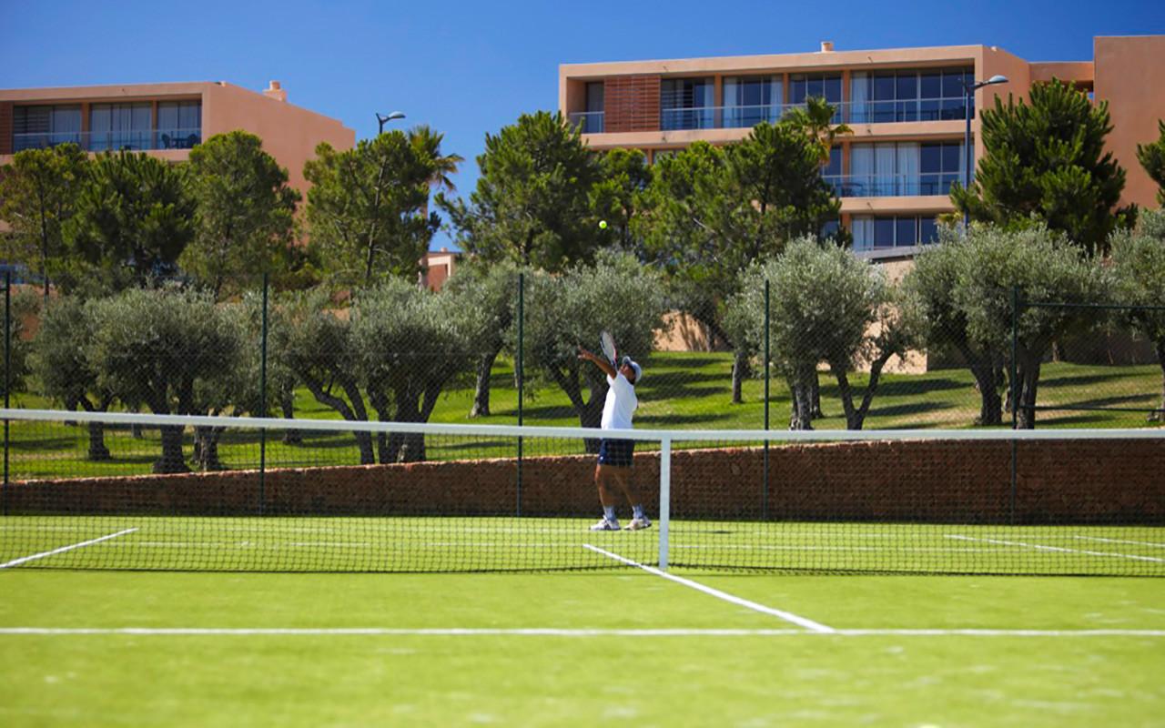 short stay Portugal på Vila das Lagoas Apartments med tennis