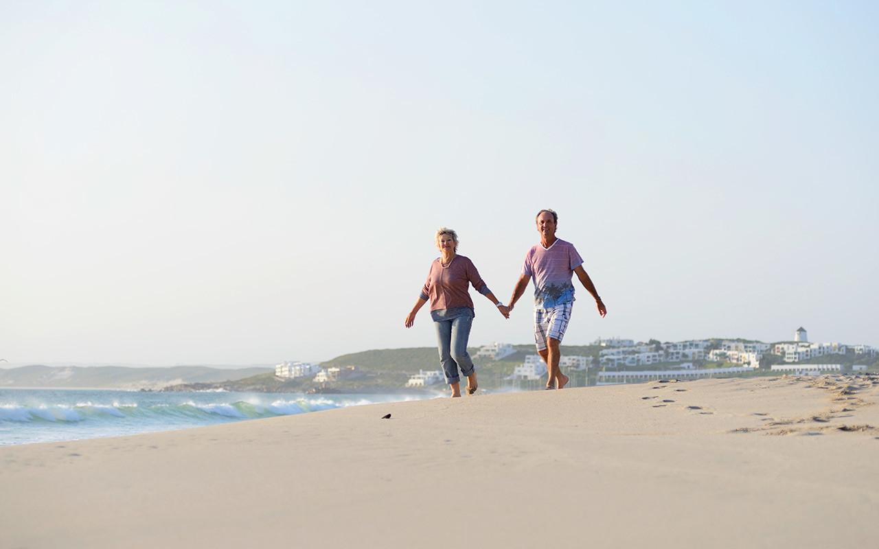 Gå på stranden longstay sydafrika | Sunbirdie