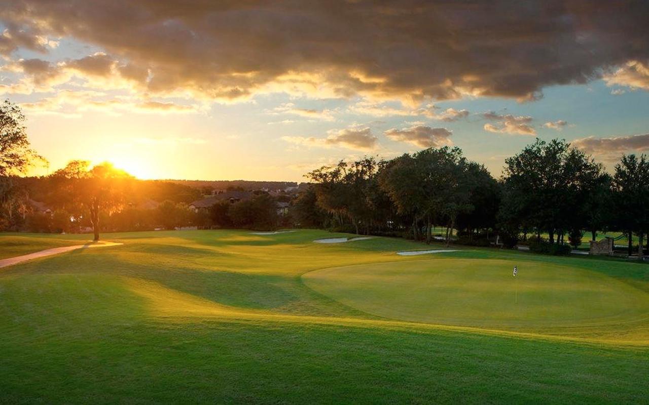 Kos deg på sitrusheiene golfbane under Long Stay Florida med Sunbirdie